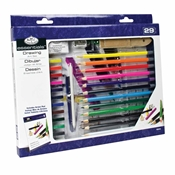 RD843 : Royal & Langnickel 29-Piece Drawing Art Set