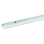 30cm Plastic Metric Scale Drafting Supplies, Ruling and Measuring Tools, Triangular Scales, Triangular Metric Scales