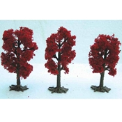 Architectural Model Japanese Red Maple Trees Drafting Supplies, Architectural Model Building Supplies, Model Trees and Foliage, Ready Made Trees