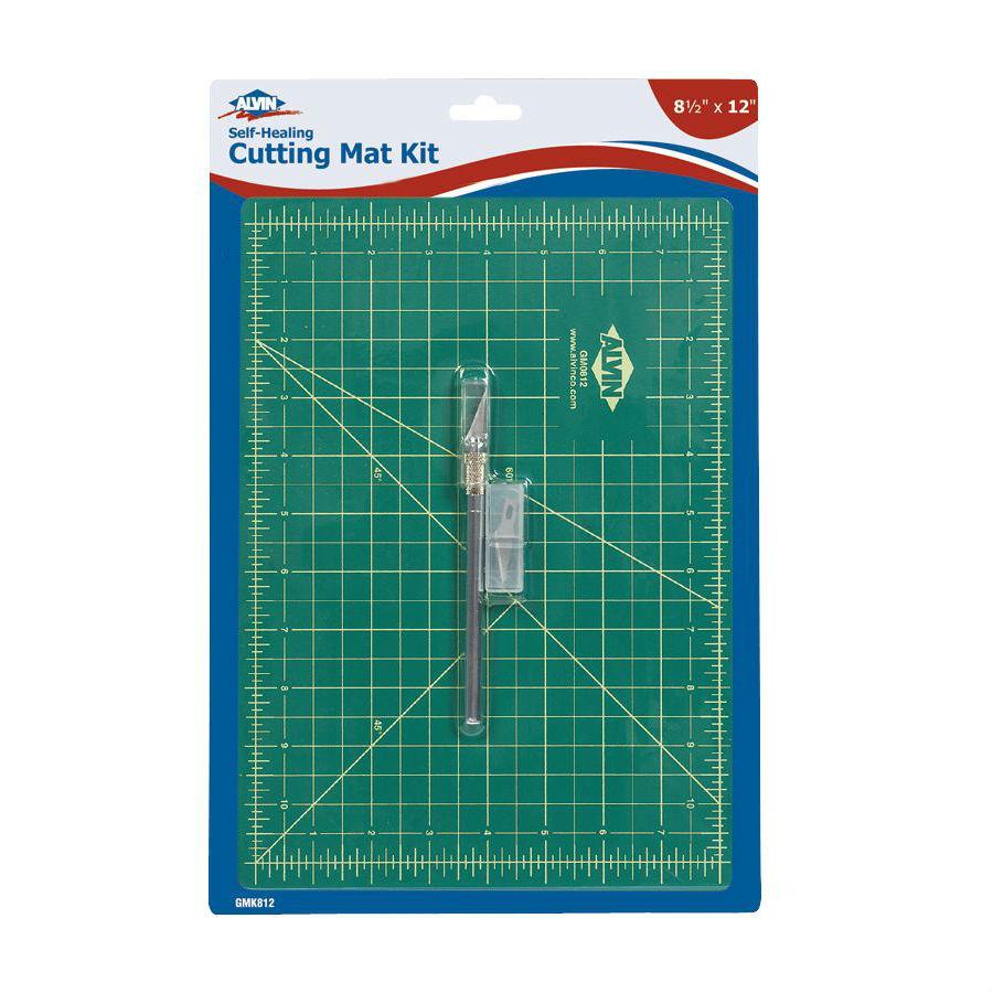 Alvin 8 5 Quot X 12 Quot Cutting Mat Kit Gmk812