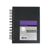 "4"" x 6"" Soft White Paper Wirebound Sketchbook Drafting Paper and Drawing Media, Sketchbooks and Sketch Pads, 4"" x 6"" Soft White Paper Wirebound Sketchbook"