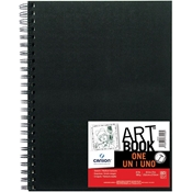 "8.5"" x 11"" ArtBook ONE Wirebound Sketchbook Drafting Paper and Drawing Media, Sketchbooks and Sketch Pads, 8.5"" x 11"" ArtBook ONE Wirebound Sketchbook"