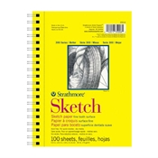 "5.5"" x 8.5"" 300 Series Sketch Pad Drafting Paper and Drawing Media, Sketchbooks and Sketch Pads, Sketch Pads"