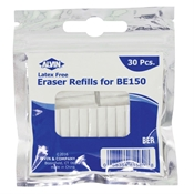 Battery Operated Eraser Refills 30-Pack