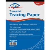Alvin Traceprint Tracing Papers