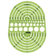 142R : Rapidesign Circle Radius Master Template