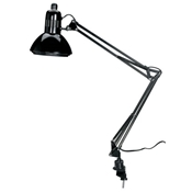 Swing-Arm Lamp with CFL Bulb Drafting Furniture, Drafting Lamps