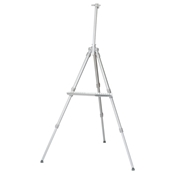 HAE625 : Heritage Marquette Classic Silver Aluminum Easel