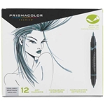 SN1773299 : Sanford Prismacolor Brush Marker 12-Color Cool Grey Set