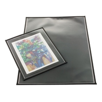 "17"" x 22"" Archival Page Protectors Pack of 6 Drafting Supplies, Portfolios and Cases, Poster and Print Protection, Alvin Archival Print Protectors"