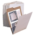 "V-File File Folders - for up to 12"" x 18"""