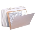 "V-File File Folders - for up to 18"" x 24"""