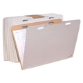 "V-File File Folders - for up to 24"" x 36"""