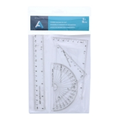 "6"" Ruler & Geometry Set"