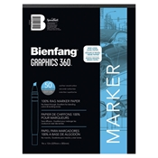 "360-3 : Bienfang 14"" x 17"" Graphics 360 Layout Paper Pad"