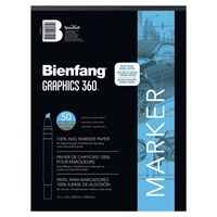 "360-1 : Bienfang 9"" x 12"" Graphics 360 Layout Paper Pad"