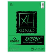XL Recycled Sketch Pad Drafting Paper and Drawing Media, Sketchbooks and Sketch Pads, Sketch Pads