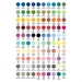 Set of 100 Assorted AD Markers - AD100