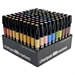 AD100 : Chartpak Set of 100 Assorted Markers