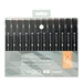 SWGRAY2AD : Chartpak Spectra AD Marker - Warm Gray 12 Pc Set