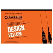 12 x 18 Vellum Pad 1000HP - 50 Sheet (NO Grid)
