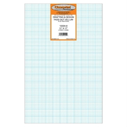 11 x 17 Vellum Sheets 1000H-8 - 8x8 Grid