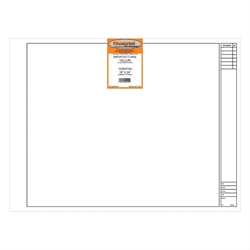 18 x 24 Vellum 1000HTSA Architectural Title Block - 100 Sheets