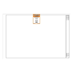 24 x 36 Vellum 1000HTSA Architectural Title Block - 100 Sheets
