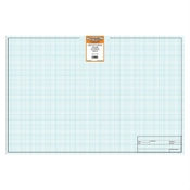 18 x 24 Vellum Sheets 1000HTS-8 - 8x8 Grid with Title Block