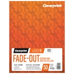 "8.5"" x 11"" Fade-Out Design Vellum with 8x8 Grid - 50 Sheet Pad"
