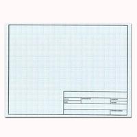 18 x 24 Vellum Sheets 1000HTS-10 - 10x10 Grid with Title Block