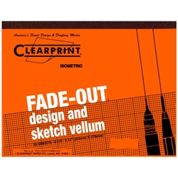 8.5 x 11 Vellum Pad 1000HP-ISO - 50 Sheet