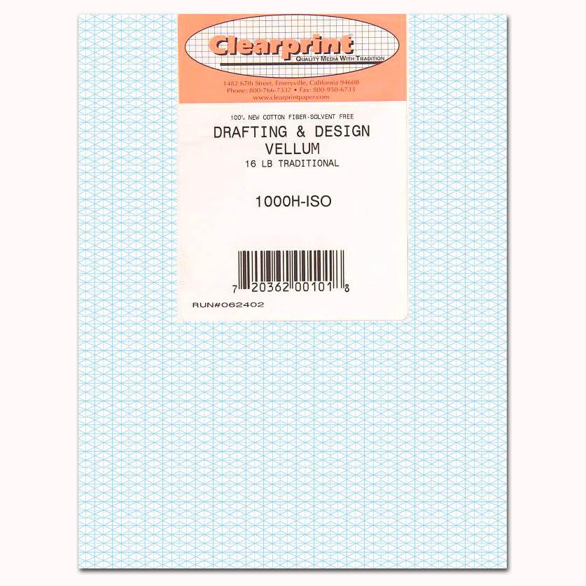 clearprint vellum 1000h iso 8 5 x 14 100 sheets 1020 5512