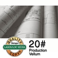 "24"" x 500' Roll - 20lb. Production Vellum - 3"" Core"
