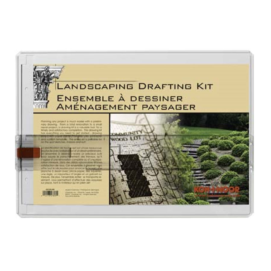 Koh I Noor Portable Landscape Drawing Board Drafting Kit