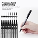 Blackliner Fineliners 8-Pen Set - BL700811