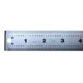 Rubber-Backed Non-Skid Ruler
