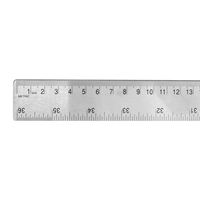 "36"" Stainless-Steel Cork-Back Ruler"