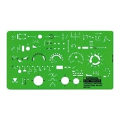 302R : Chartpak Contact/Switches/Relays Template