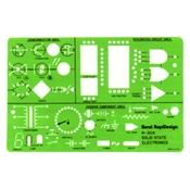 304R : Chartpak Solid State Electronics Template