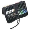 Premier Double-Ended Markers - Assorted Colors with Case, Set of 48