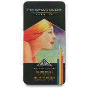 12-Color Set Premier Colored Pencils Drafting Supplies, Drafting Pencils and Leads, Colored Pencils, Sanford Prismacolor Premier Colored Pencils