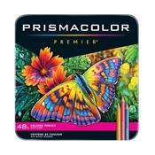 Premier Colored Pencils - 48-Color Set Drafting Supplies, Drafting Pencils and Leads, Colored Pencils, Sanford Prismacolor Premier Colored Pencils