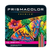Premier Colored Pencils - 72-Color Set  Drafting Supplies, Drafting Pencils and Leads, Colored Pencils, Sanford Prismacolor Premier Colored Pencils