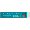 (2H) Turquoise 2mm Leads - 12-Pack Drafting Supplies, Drafting Pencils and Leads, 2mm Drafting Leads