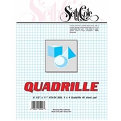 "#78-G4 - 22""x34"" 4x4 Quadrille Bond - 50 Sheets"