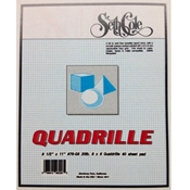 "#78-G8 - 11""x17"" 8x8 Quadrille Bond"