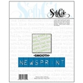 "#79S - 9""x12"" Smooth Newsprint"