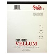"#80MP - 11 ""x 17"" Drafting Vellum - 50 Sheet Pad"