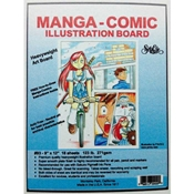 Seth Cole #93 Manga-Comic Illustration Board